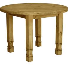 laredo round dining table