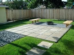 backyard stone patio floor ideas for small gardens diy on a budget best outdoor patio ideas diy