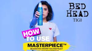 How To Use: <b>Masterpiece</b> | <b>Bed Head</b> By <b>TIGI</b> | #StandOutDontFitIn