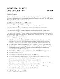 Sample Resume For Home Health Aide Resume For Home Health Aide Unique Home Health Aide Resume Objective