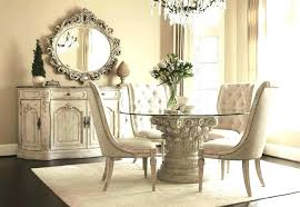 round glass dining table set white glass table and chairs vintage round glass dining table set
