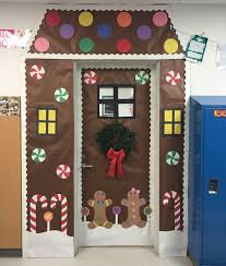 winter door decorating contest. Gingerbread House Ideas Pinterest Creative Elementary Counselor Winter Decorations Christmas Door Decorating Contest A
