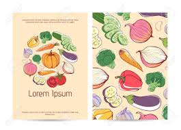 Design A Poster On The Topic Of Healthy Food Healthy Food Poster Template With Fresh Vegetables Natural Organic