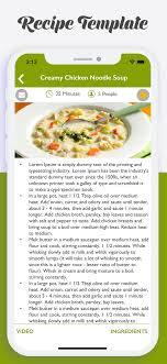 Food Recipe Template Food Recipe Template Tirevi Fontanacountryinn Com
