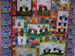 Monster truck quilt, embroidery applique. | My Creations ... & Monster truck quilt, embroidery applique. Adamdwight.com