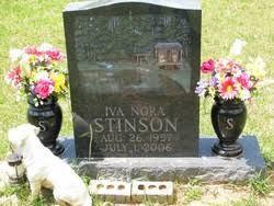 Iva Nora Culotta Stinson (1957-2006) - Find A Grave Memorial