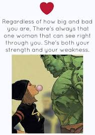 Hulk Love Quotes