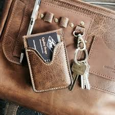 leather goods connection wallet review