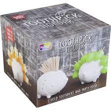 Talisman Designs Party Picks Hedgehog Ceramic Toothpick Holder Kitson La