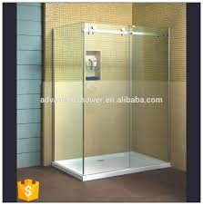 shower door 3 panel sliding shower door sliding shower door roller