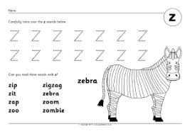 Practice uppercase letter z recognition and basic phonics with this alphabet worksheet. Letter Z Phonics Activities And Printable Teaching Resources Sparklebox