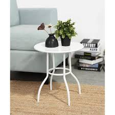 small white coffee table desk eggree wooden mdf round antique and end tables whitewash 840