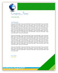 business header examples business header template globe business letterhead template