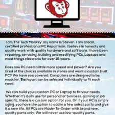 my computer works reviews the tech monkey 12 reviews it services computer repair 3365