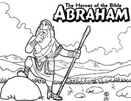 Small Picture Abraham The Bible Heroes Coloring Page NetArt
