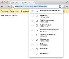 Getting Started with HTML5 Applications - NetBeans Tutorial