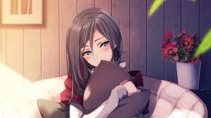 Top cute anime girl wallpaper hd ...