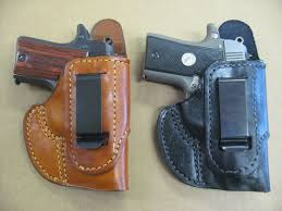iwb non collapse in the waist iwb holster ccw 44 95 azula holsters custom leather
