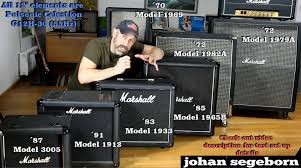 Marshall 4x10 Cabinet 7 Marshall Speaker Cabinet Comparison Shootout Youtube