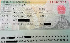 Super Visa Income Chart 2017 How To Obtain A Chinese Visa In Canada In An Easy And Cost