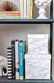 contact paper for furniture. diy marble contact paper decorative boxes for furniture