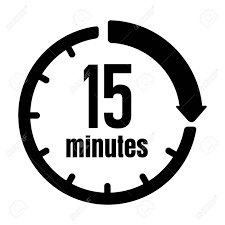 15 Min Timer Clock Timer Time Passage Icon 15 Minutes