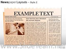 Newspaper Powerpoint Template Delectable NEWS HEADLINES POWERPOINT SLIDES POWERPOINT DIAGRAMPowerPoint Diagram