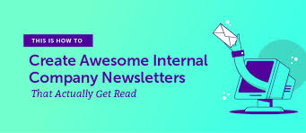Ngo Newsletter Templates How To Create Awesome Internal Company Newsletters That Get Read
