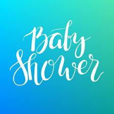 texte de baby shower lettrage personnalisé invitation à l arrivée du bébé