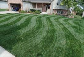 Mowing Patterns Beauteous Mowing Stripes In Lawn The S Curve Or Wave Pattern YouTube