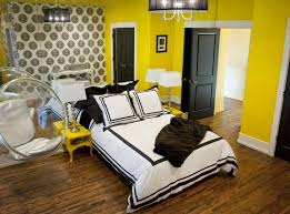 bedroom furniture interior fascinating wall. Interior:Fascinating Yellow Bedroom Interior Design Color Paint Idea Fascinating With Fiblerglass Furniture Wall
