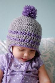 Baby Beanie Crochet Pattern 6 12 Months Adorable Alli Crafts Free Pattern Earflap Hat 4848 Months