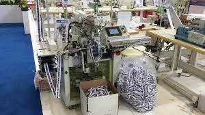 Brother KE - 430 LUCK SS-003-V01 İç Çamaşırı Bel Lastik Birleştirme Dikiş  Otomatı - YouTube