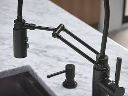 Articulating Kitchen Faucet Collection Solna O Finish Matte Black O Product Single Handle
