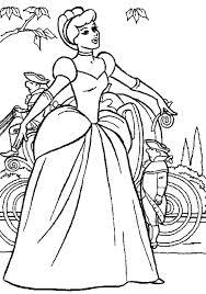 Cinderella Coloring Pages Stockware