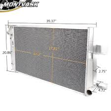 For Chevy Duramax 6.6L 2001-2005 Aluminum Performance Radiator 02 ...