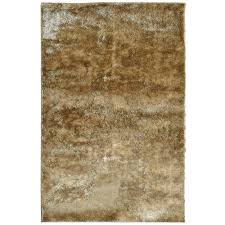lanart silk reflections gold 5 ft x 8 ft area rug