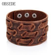 skull snake leather bracelet whole leather bracelets rainbow