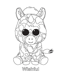 Beanie Boo Coloring Pages Photo 5 Cool Ty Beanie Boos Beanie