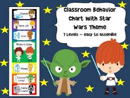 Star Wars Behavior Chart Star Wars Behavior Chart Classroom Behavior Chart Star