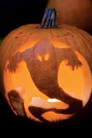 Spooky Ghost Halloween Pumpkins