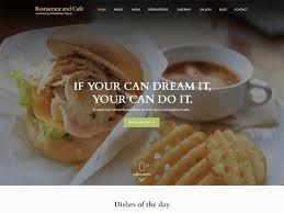Wp Restaurant Themes Restaurant And Cafe Wordpress Theme Wordpress Org