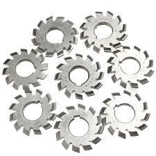 Spur Gear Cutter Selection Chart Module 2 Diameter 22mm 20degree 1 8 Hss Involute Gear Milling Cutter
