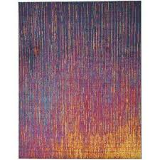 passion multicolor 8 ft x 10 ft area rug