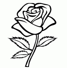 Coloring Pages Flower For Girls Easy Printable Kids Colouring Free