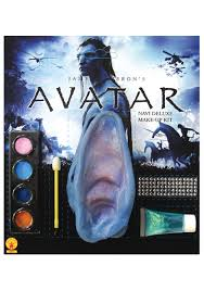 deluxe avatar na vi makeup and ears kit avatar costume accessory