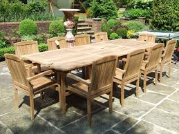 outdoor table and chairs new teak outdoor furniture good alternative homeblu