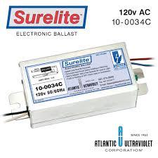 Electronics Tube Light Choke Circuit Surelite Electronic Ballasts For Uv Lamps Ultraviolet Com