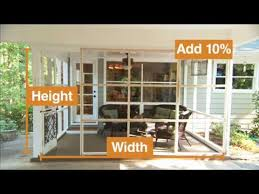 how to install the screen porch screen system for your porch