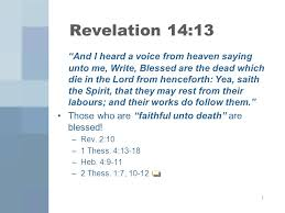 and their works do follow them the 7 beatitudes of revelation ppt video online download